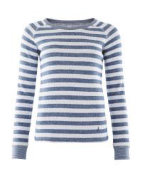 Crane Ladies Knitted Sweater - Navy