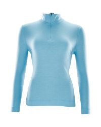 Crane Ladies Merino Zip Neck Top