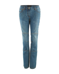 Crane Ladies' Motorcycle Blue Jeans