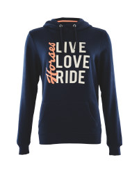 Crane Ladies' Live, Love, Ride Hoody
