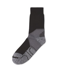 Crane Coolmax Walking Socks - Black