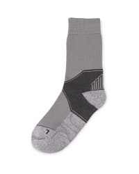 Crane Coolmax Walking Socks - Grey