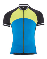 Crane Men's Cycling Jersey - Blue