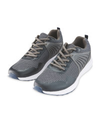 Crane Men's Grey Fitness Trainers