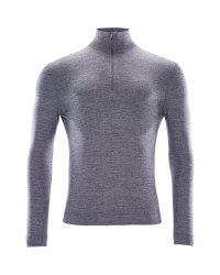 Crane Men's Merino Zip Neck Top