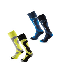 Crane Mens Ski Socks 2 Pack