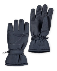 Crane Mens Technical Ski Gloves