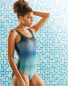 Crane Ombre Ladies' Swimsuit