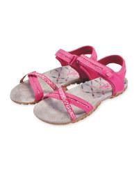 Crane Pink Trekking Sandals