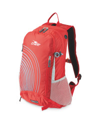 Crane Red/Grey Bike Rucksack