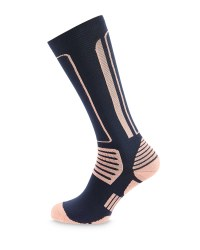 Crane Riding Socks - Coral