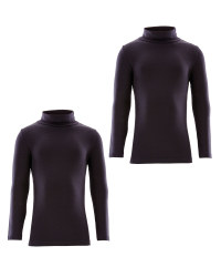 Crane Roll Neck Top 2 Pack