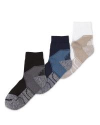 Crane Coolmax Walking Ankle Socks