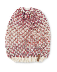 Crane Slouch Knitted Hat - Gradient