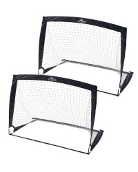 Crane Foldable Football Goal 2-Pack