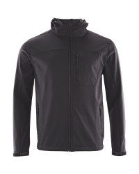 Crane Softshell Fishing Jacket - Black