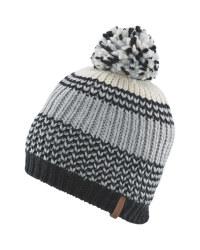 Crane Striped Pompom Hat