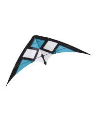 Crane Stunt Kite Black/Blue