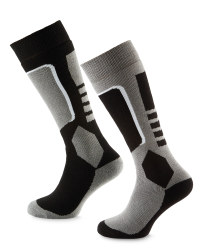 Crane Unisex Black/Grey 2 Pack