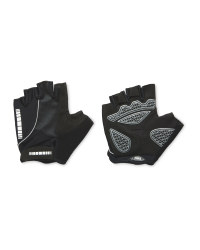 Crane Touch & Close Cycling Gloves - Black