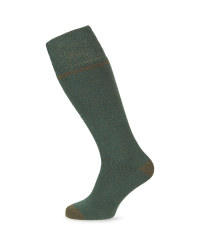 Crane Wader Wool Fishing Socks - Green