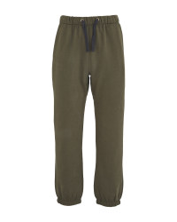 Crane Winter Green Fishing Joggers