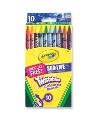 Crayola Twistables Pencils 10 Pack