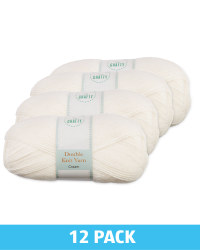Cream Double Knit Yarn Bundle