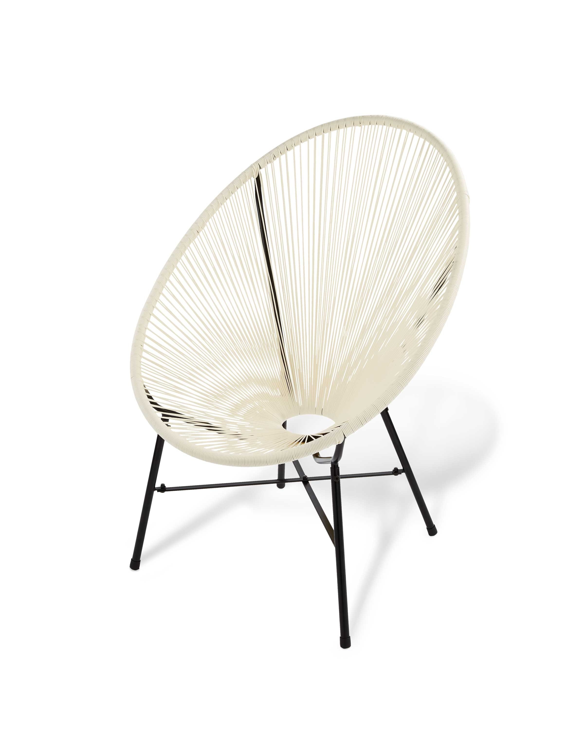 Cream Garden String Chair