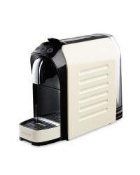 Cream Gloss Coffee Capsule Machine