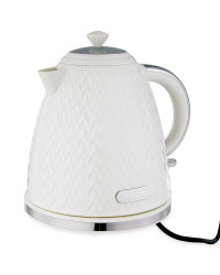 Cream Textured Kettle