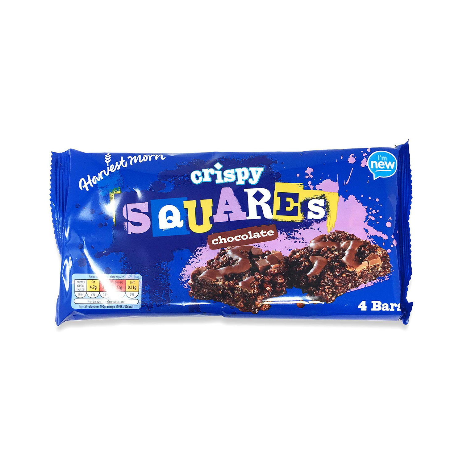 Crispy Squares Bar Chocolate