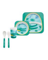 Croc Children's Melamine Dinner Set