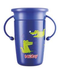Nuby Crocodile Stainless Steel Cup