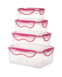 Crofton Clip & Close Set - Pink