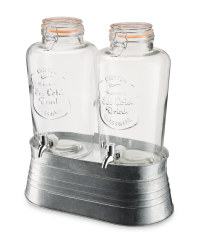 Crofton Dual Glass Drinks Dispenser