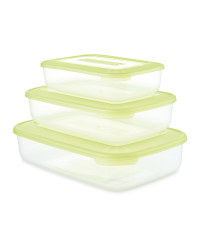 Crofton Food Container 3-Pack - Green