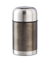 Crofton Food Flask - Black