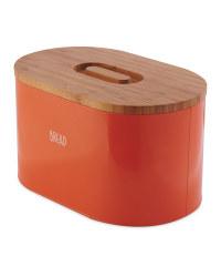 Crofton Orange Bread Bin