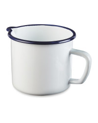 Crofton Jug - White/Blue