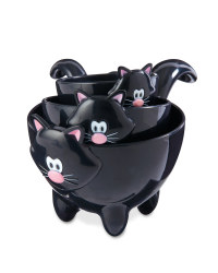 Crofton Black Cat Measuring Cup