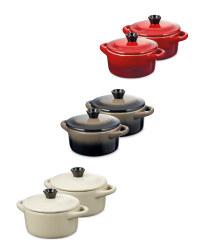 Crofton Mini Casserole Dishes 2 Pack