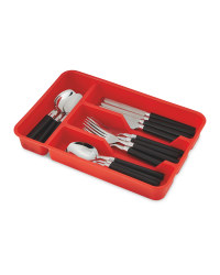 Crofton Red/Black Cutlery Set