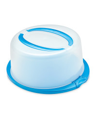 Crofton Round Cake Container - Blue