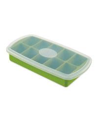 Crofton Silicon Ice Cube Tray - Green