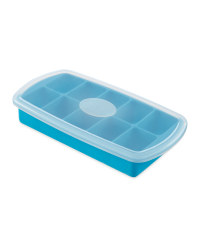 Crofton Silicon Ice Cube Tray - Light Blue