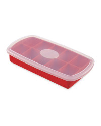 Crofton Silicon Ice Cube Tray - Red