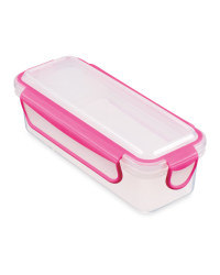 Crofton Snack & Dip Container - Pink