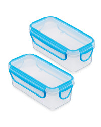 Crofton Snack Container 2-Pack - Blue