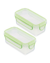 Crofton Snack Container 2-Pack - Green